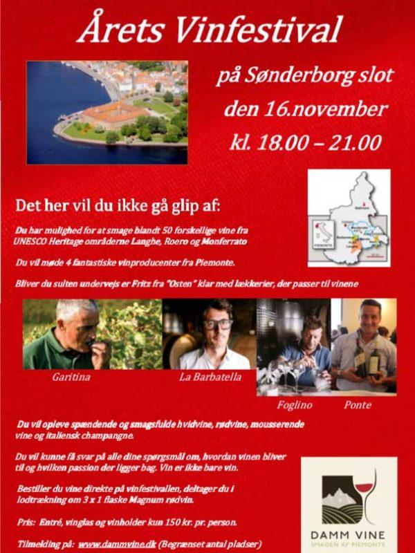 Sønderborg Slot Vinfestival